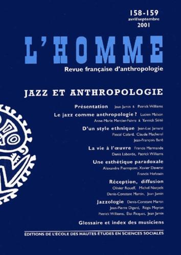 EHESS - L'Homme N° 158-159 Avril-Septembre 2001 : Jazz et anthropologie.