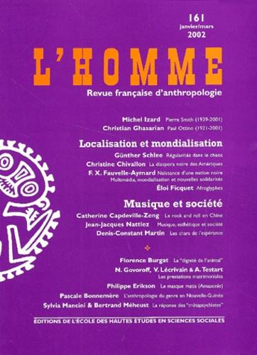 EHESS - L'Homme N° 161 Janvier-Mars 2002.