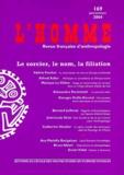 Valérie Feschet et Alfred Adler - L'Homme N° 169 janvier/mars : Le sorcier, le nom, la filiation.
