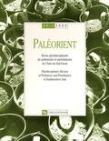 J Perrot - Paléorient N° 26-1/2000 : .