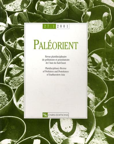 L Maher - Paléorient N° 27/1, 2001 : .
