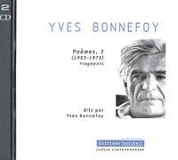 Yves Bonnefoy - Poèmes (1953-1975) - 2 CD audio.