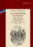 Von Kriegß-Befelch und Ämptern 2 Bände - Leonhard Fronspergers Kriegsämter-Beschreibung in Versen von 1573 mit Holzschnitten von Jost Amman.