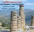 Laurence Vanin et Brigitte Lascombe - Henri Bergson, Jean-Paul Sartre. 1 CD audio MP3