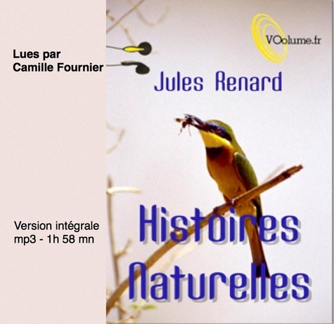 Histoires naturelles  avec 1 CD audio MP3