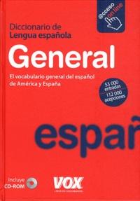 Vox - General - Diccionario de lengua española. 1 Cédérom