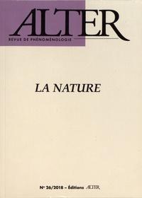 Jean-Claude Gens et Grégori Jean - Alter N° 26/2018 : La nature.