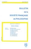Elhanan Yakira - Bulletin de la Société française de Philosophie N° 1, janvier-mars 2 : Spinoza, l'énigme?.