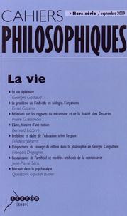Nathalie Chouchan - Cahiers philosophiques Hors série septembre : La vie.