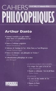 CNDP - Cahiers philosophiques N° 144 : Arthur Danto.