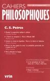 Nathalie Chouchan - Cahiers philosophiques N° 150,3e trimestre  : C. S. Pierce.