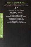 Leonard Lawlor - Chiasmi international N° 17 : Merleau-Ponty - De la plasticité au poétique, à travers l'herméneutique de Paul Ricoeur.