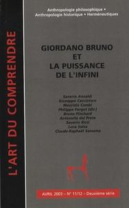 Philippe Forget - L'art du Comprendre N° 11/12, Avril 2003 : Giordano Bruno et la puissance de l'infini.