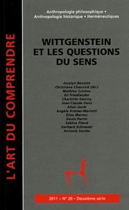 Christiane Chauviré - L'art du Comprendre N° 20, Juillet 2011 : Wittgenstein et les questions du sens.