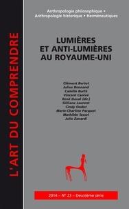 René Daval - L'art du Comprendre N° 23/2014 : Lumières et anti-Lumières au Royaume-Uni.