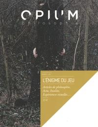 Hélène Milet - Opium philosophie N° 3/2015 : L'énigme du jeu.