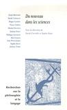 Sarah Carvallo et Sophie Roux - Recherches sur la philosophie et le langage N° 24 : Du nouveau dans les sciences.