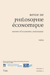 Revue de philosophie économique Volume 17 N° 2, 2016.pdf