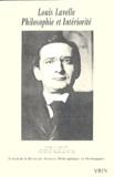Jean-Louis Vieillard-Baron - Revue des sciences philosophiques et théologiques N° 88, Avril-juin 20 : Louis Lavelle - Philosophie et Intériorité.