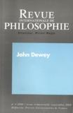 Michel Meyer - Revue internationale de philosophie N° 245, Septembre 20 : John Dewey.