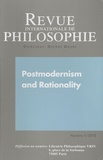 Nick Turnbull - Revue internationale de philosophie N° 251/2010 : Postmodernism and Rationality.