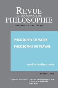Jonathan Hearn - Revue internationale de philosophie N° 278/2016 : .