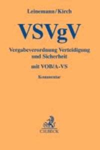 VSVgV Vergabeverordnung Verteidigung und Sicherheit - mit Gesetz gegen Wettbewerbsbeschränkungen - 4. Teil - Auszug - und VOB/A-VS.
