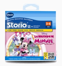 VTECH - La boutique de Minnie - Jeu Storio 2