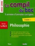 Vuibert - Philosophie Séries L-S-ES - 2002-2006.
