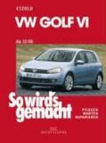 VW Golf VI von 10/08 bis 10/12 - Benziner 1,2l/ 63kW (85 PS) 6/10-10/12 bis 2,0l/199kW (270 PS) 12/09-10/12. Diesel 1,6l/ 66kW (90 PS) 5/09-10/12 bis 2,0l/ 125kW (170 PS) 5/09-10/12.
