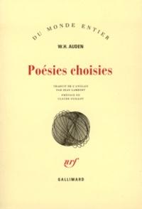 W-H Auden - Poésies choisies.