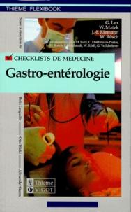 W Rosch et G Lux - Checklist gastro-entérologie.