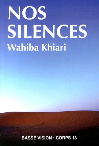 Nos silences Edition en gros caractères