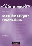 Walder Masiéri - Aide-Mémoire de Mathématiques financières - 2ème édition.