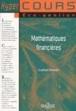 Walder Masiéri - Mathématiques financières. - Edition 2001.