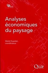 Walid Oueslati - Analyses économiques du paysage.