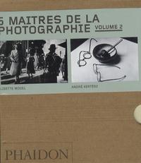 Walker Evans et Mathew B. Brady - 5 maîtres de la photographie, coffret en 5 volumes - Tome 2.