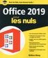 Wallace Wang - Office 2019 pour les nuls.