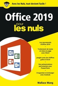 Wallace Wang - Office 2019 pour les nuls.