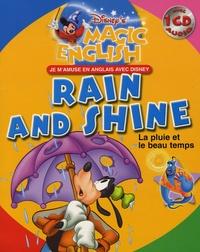 Walt Disney - Rain and Shine - La pluie et le beau temps. 1 CD audio