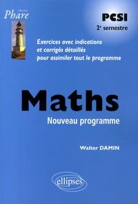 Walter Damin - Maths PCSI 2e semestre.