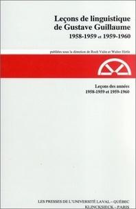 Walter Hirtle et Roch Valin - Leçons des années 1958-1959 et 1959-1960.