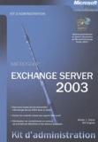 Walter-J Glenn et Bill English - Exchange Server 2003.