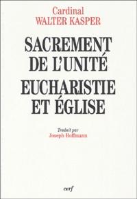 Sacrement de lUnité - Eucharistie et Eglise.pdf