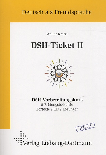 Walter Krahe - DSH-Ticket II. 1 CD audio