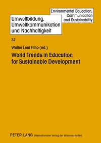 Walter Leal filho - World Trends in Education for Sustainable Development.