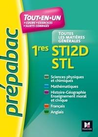 Walter Vassiaux et Bernard Verlant - Prépabac tout-en-un 1res STI2D-STL.