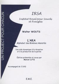 Walter Wouts - L'AKA - Alphabet des Kinèmes Assistés. 2 DVD