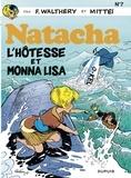 Walthéry et  Mittéï - Natacha - tome 7 - L'Hôtesse et Monna Lisa.
