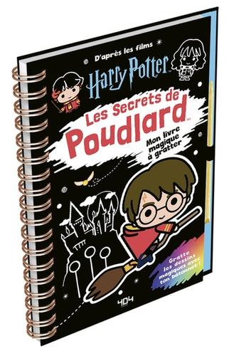 Mon Livre Magique A Gratter Harry Potter Les Secrets De Poudlard Avec Un Batonnet En Bois Grand Format